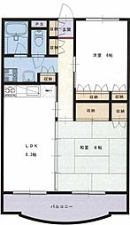 ファーストシティ湘南[1階]の間取り