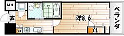 No.65 クロッシングタワー[16階]の間取り
