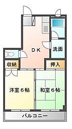 ニューウィング幕張II[1階]の間取り