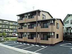 静岡県裾野市伊豆島田の賃貸マンションの外観