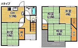 [一戸建] 大阪府泉佐野市新安松2丁目 の賃貸【/】の間取り