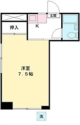 メゾン小泉[1階]の間取り