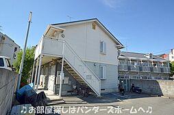 大阪府枚方市朝日丘町の賃貸アパートの外観