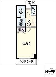 フレア エスペランサ[2階]の間取り