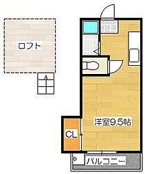 ストーンビレッヂ B棟[2階]の間取り