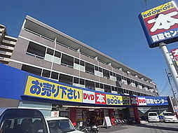 千葉県流山市松ケ丘3丁目の賃貸マンションの外観