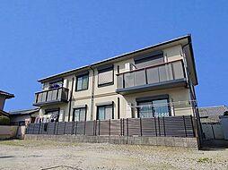 奈良県磯城郡田原本町大字八尾の賃貸アパートの外観