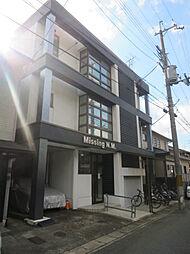 京都府京都市左京区松ヶ崎木ノ本町の賃貸マンションの外観