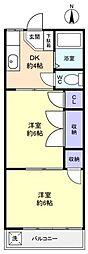 ジェニファー勝田台[2階]の間取り
