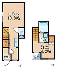 ALEGRIA野田阪神[1階]の間取り