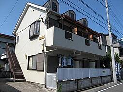 東京都江戸川区東小岩6丁目の賃貸アパートの外観