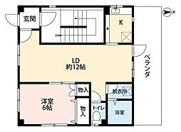 ユタカビル[5階号室]の間取り