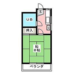 伊藤アパート[2階]の間取り