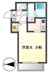 仮称Cherim岩塚[3階]の間取り