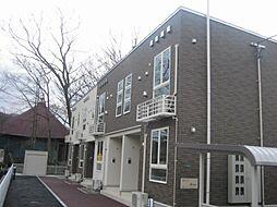 新潟県村上市片町の賃貸アパートの外観