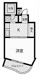 ノアハヤシII[209号室号室]の間取り