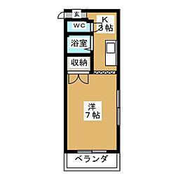 天満小塚ビル[3階]の間取り