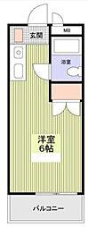 メイプルハウス町田[0202号室]の間取り