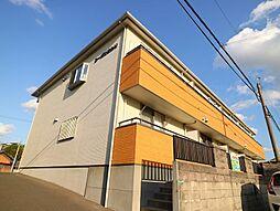 福岡県遠賀郡水巻町吉田東1丁目の賃貸アパートの外観