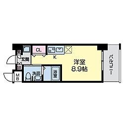 グレンパーク江坂II[0503号室]の間取り