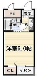 エスポワール豊秀[3階]の間取り