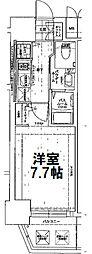 エステムコート南堀江Ⅲチュラ[6階]の間取り