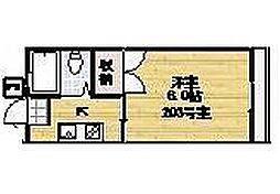 コーポ清美[2階]の間取り