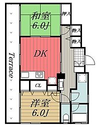 [一戸建] 千葉県千葉市中央区院内2丁目 の賃貸【/】の間取り