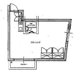 ハイツササキ[2階]の間取り