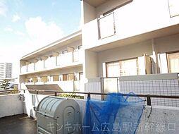 広島県広島市東区牛田南2丁目の賃貸マンションの外観