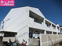愛知県名古屋市緑区大高台2丁目の賃貸アパートの外観