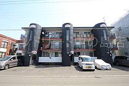 北海道札幌市豊平区平岸四条11丁目の賃貸マンションの外観