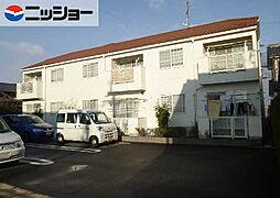 岐阜県羽島市正木町曲利の賃貸アパートの外観