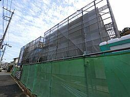 千葉県成田市公津の杜6丁目の賃貸アパートの外観