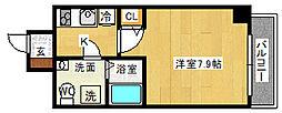 SERENiTE江坂四番館[8階]の間取り