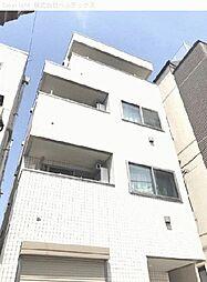 東京都台東区谷中の賃貸マンションの外観