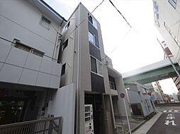 愛知県名古屋市昭和区鶴舞3の賃貸アパートの外観