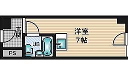 新大阪ビジネス第2ニッケンマンション[6階]の間取り