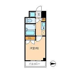 セントグレース[8階]の間取り