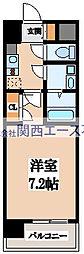 CASSIA高井田NorthCourt[2階]の間取り