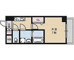 仮称 高槻市別所新町マンション[4階]の間取り