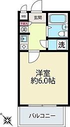 コットンハウス[3階]の間取り