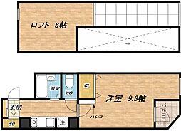 センターハウス[5階]の間取り