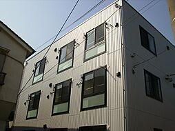 東京都北区上中里3丁目の賃貸マンションの外観