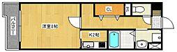 ユウメイトビル[4階]の間取り