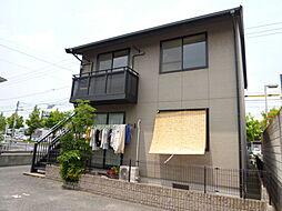 岡山県倉敷市連島3の賃貸アパートの外観