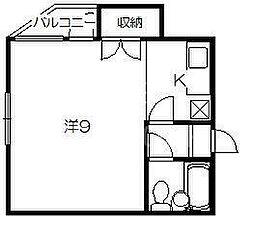 メゾン福島[3-A号室号室]の間取り