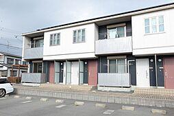 静岡県湖西市鷲津の賃貸アパートの外観