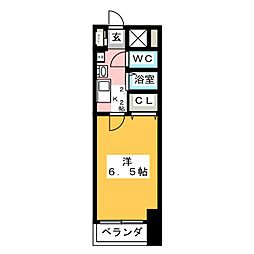 AXIS[3階]の間取り