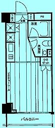 レックス武蔵中原[2階]の間取り